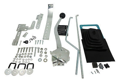 Universal Floor Shifter Conversion Kit GM TH350 TH400 700R4 Ford C4 C6 904 727