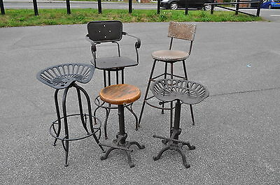 Tractor Seat Stool, Industrial Chair Seat, Breakfast Bar Stool industrial stool