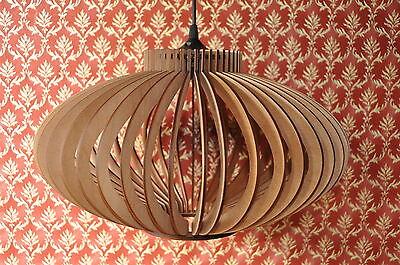 h ngeleuchte pendelleuchte deckenlampe modern k che wohnzimmer holz neu eur 135 00 picclick de. Black Bedroom Furniture Sets. Home Design Ideas