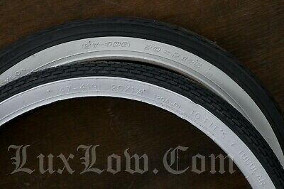 S 7 Classic WHITE WALL Bicycle Tires