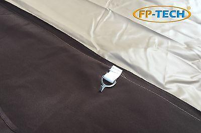 Gazebo 3X3 Giardino In Alluminio Telo Antipioggia Pvc Zanzariera Teli Antivento 4