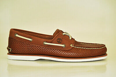 TIMBERLAND CLASSIC 2 EYE Boat Chaussures Bateau Mocassins Homme A21HM