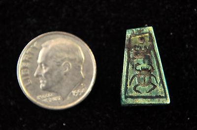 Ancient Egypt New Kingdom Steatite Amulet Seal Bead 7