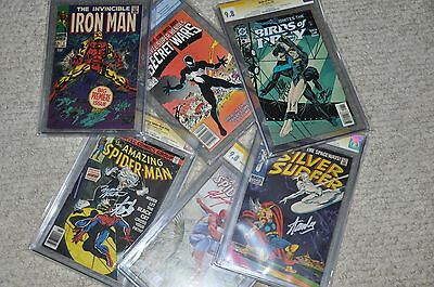 Comic book grab bag, CGC, Variants, Signed, Num 1's, Key issues, Sketch Covers 4
