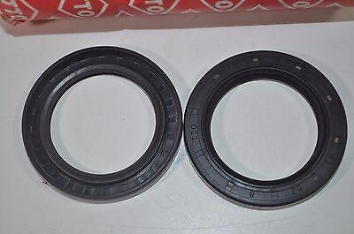 Lot of 2 TTO E508 Double Lip Shaft Oil Seal TC 38mm x 55mm x 8mm PN# TC 38 55 8