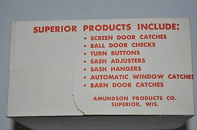 Vintage Superior Barn Door Catch w/ Hardware Heavy Duty Automatic Latch 7
