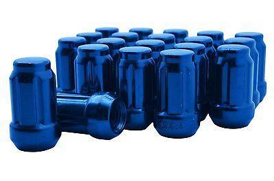 20pc Blue Spline Tuner Lug Nuts 1//2-20 Threads Works on Aftermarket Wheels