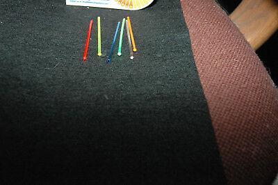 Fiberoptic replacement sight fiber optic rods .060 1.5mm 6 colors