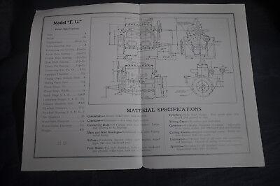 Ca 1920 Waukesha High Torque Motors Model F. U. Brochure 2