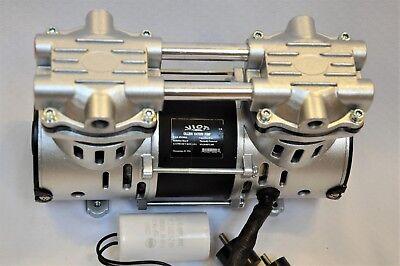 Dry Run Twin Piston Oil-less Vacuum Pump/O2 Concentrator Compressor Replacement 3