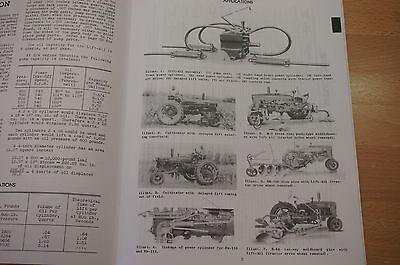 hydraulic lift all farmall h hv m md mv brsm ih service rebuild rh picclick com farmall h manual free pdf farmall h manual free download