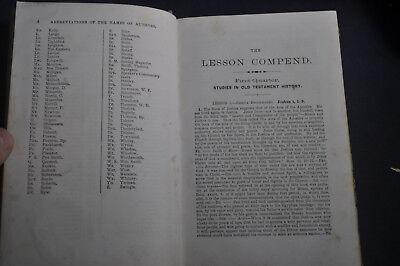 The Lesson Compend for 1875 - Jesse Lyman Hurlbut - Methodist 5