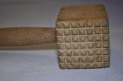 alter Holz - Fleischklopfer Nr.3