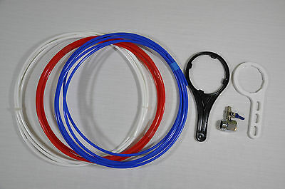 4 Stage Reverse Osmosis Filter Unit 50 GPD Marine / Tropical / Window Cleaning 4