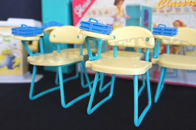 GLORIA Dollhouse Furniture Size Classroom PlaySet  (9816) NEW Classroom Chairs 3