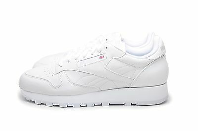 2ca40571be4 REEBOK MEN S SHOES Classic Leather 9771 White -  59.99