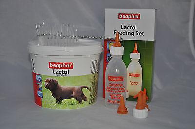 Puppy Kitten Complete Feeding Set Welpi Lactol Milk Bottle Feeding Tube Whelping 6