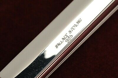 "French Regency by Wallace Sterling Fish Serving Knife 11.5"", New in Wrapper 3"