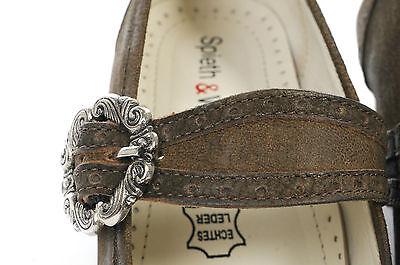 DAMEN TRACHTENSCHUHE TRACHTEN Pumps Dirndl Schuhe Echt Leder