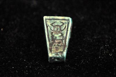 Ancient Egypt New Kingdom Steatite Amulet Seal Bead 4