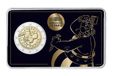 2 Euro Frankreich Cu/Ni 2019 Asterix Obelix Idefix bfr st Stempelglanz Blister 4