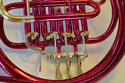 PINK • Bb STERLING SWFH-700 Single FRENCH HORN • Pro • Brand New • With Case •