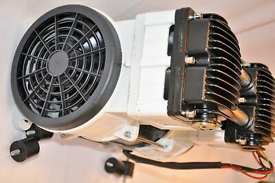 Twin Piston Oilless Vacuum Pump Push/Pul 10CFM Science Medic/Dental Lab Workshop 2