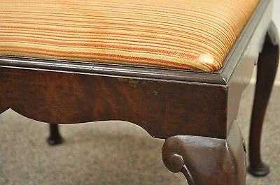 Marvelous Antique Schmieg Kotzian Mahogany Wood Queen Anne Square Pdpeps Interior Chair Design Pdpepsorg