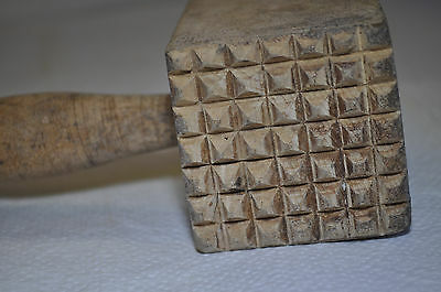 alter Holz - Fleischklopfer Nr.2