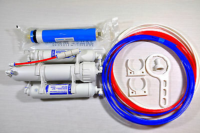 Reverse Osmosis Filter for Tropical & Marine Fish 50 75 100 150 GPD 3 Stage Unit 2