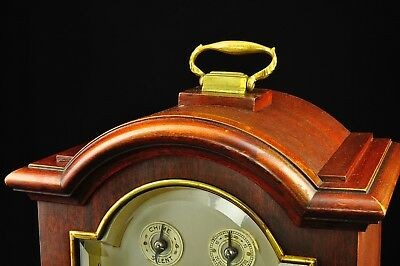 Antique German Junghans 8 Day Bracket Clock with Westminster Chime approx. 1910 3