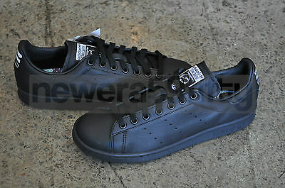 buy online c3af2 3dfaf 1 of 7FREE Shipping Adidas Consortium x Pharrell Williams Stan Smith Solid  - Black