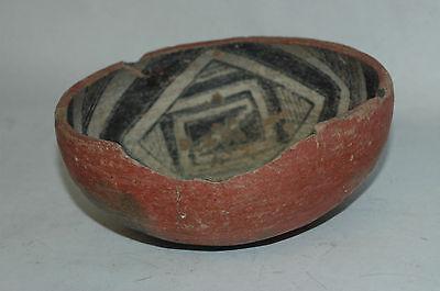 Pre-Historic Cliff Polychrome Bowl Tonto Basin AZ NAA-116 4