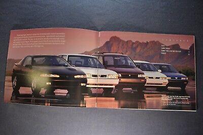 1993 Eagle Summit and Summit Wagon Original 22-page Sales Brochure Catalog