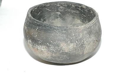Pre-Historic Hohokam Plainware pottery Bowl 800-1400 AD Buckeye AZ NAA-168 2