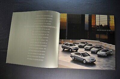 1996 Acura Original Sales Brochure RL TL CL Integra NSX SLX
