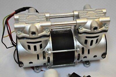 Dry Run Twin Piston Oil-less Vacuum Pump/O2 Concentrator Compressor Replacement 2