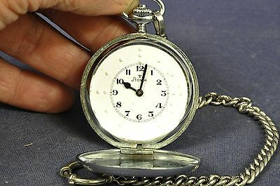 Stowa Blinden Taschenuhr Pocketwatch Blinds Mechanically Unitas 6431 Taschenuhren Uhren & Schmuck