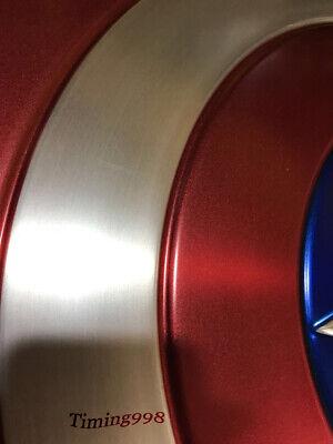 1:1 Avengers Captain America Shield Alloy Metal Version Cosplay Prop Display 5