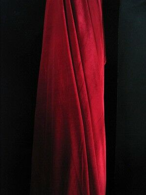 """Stretch Velvet Fabric Costumes Craft, Apparel, Upholsters 60""""W 30 Color By Yard 3"""