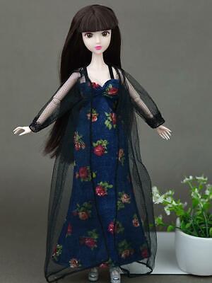 2pcs/set Fashion Clothes For Barbie Doll Dress Pajamas Lace Lingerie Sleepwear 9