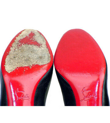 f6ee29e111c1 ... Clear 3M sole protector guard for Christian Louboutin red bottom heel 4