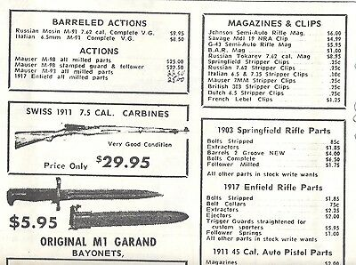 Surplus Mauser Barrels