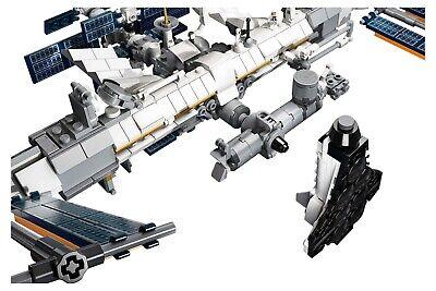 LEGO Ideas Internationale Raumstation 21321 Satelliten NASA Mini-Spaceshuttle 7