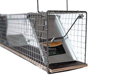 116cm  -  Marderfalle Lebendfalle Kaninchenfalle Tierfalle Drahtfalle Iltisfalle 6