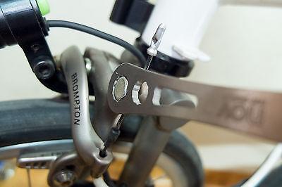 NEW!! nov Titanium Spanner - 15mm,10mm,8mm - for Brompton regular's [nov068] 2