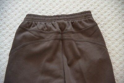 New Puma Shift 552491-01 Unisex Track Bottom Sweat Pants Chocolate Brown 9-10 Yr 6