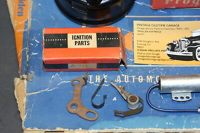 1936,1937,1938,1939,1940,1941,1942,Packard Ignition Distributor Tune Up Kit 2