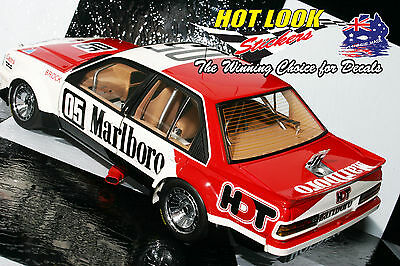 1:18 Peter Brock Missing Vinyl Decals 1982 Symmons Plains Winner VC Commodore