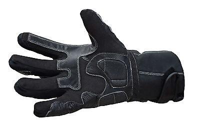 Polar Force Leather Waterproof Thermal Winter Motorcycle Motorbike Gloves 3